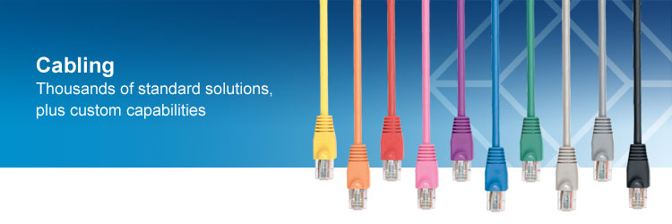 Thousands of cabling products. Find the cable you need. And if you can't find it, we'll make what you need.