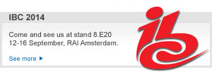 IBC 2014: register for free admission