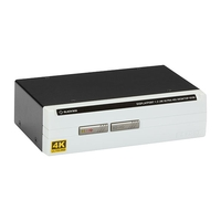 KV6202A: 2-Port, (1) DisplayPort 1.2 (4K60), USB transparent, Audio