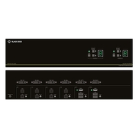 SS4P-DVI-4X2-UCAC: (1) DVI-I: Single/Dual Link DVI, VGA, HDMI  through adapter, 2 users x 4 sources, USB Keyboard/Mouse, Audio, CAC