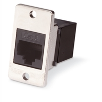 CAT6 RJ-45 Panel-Mount Couplers
