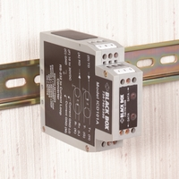 RS-232 to Current Loop DIN Rail Converter with Opto-Isolation