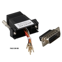 Modular DB15 to RJ-45 Adapter Kit (Unassembled)