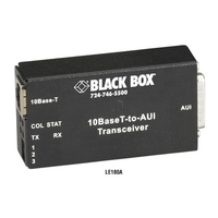 10BASE-T to AUI Transceiver