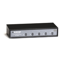 2 x 4 DVI Matrix Switch with Audio