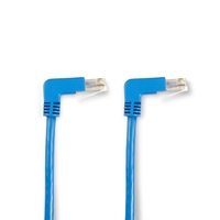 SpaceGAIN CAT5e Shielded F/UTP Angled Cables with Moulded Boots