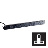 Standard UK Power Strips (UK Plug)