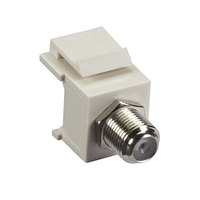 FMT331-R2: F Connector F/F, Office White