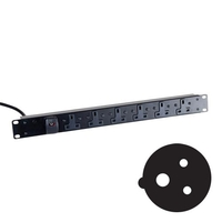 Standard UK Power Strips (32A Commando Plug)