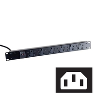 Standard UK Power Strips (C14 Plug)