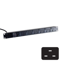 Standard UK Power Strips (C20 Plug)