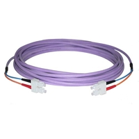 Ruggedised Fibre Optic Multimode OM3 Patch Cables (50-/125-µm)