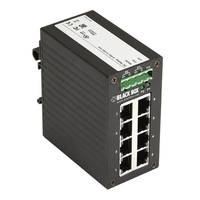 LGH008A: -10 to +70° C, (8) 10/100/1000Mbps, RJ-45, Dual DC Power Supply