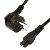 Schuko to C5 Power Cord, 2m