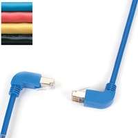 SpaceGAIN CAT5e UTP Angled Cables with Moulded Boots