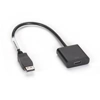 EVNDPHDMI-MF-R3: Video Adapter, DisplayPort to HDMI, Male/Female, 19 cm
