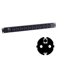Click-Lock C13 Power Strips (Schuko Plug)