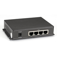 Unmanaged 802.3af PoE Gigabit Ethernet Switch, 5-Port