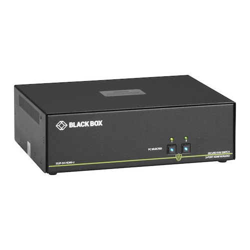 SS2P-SH-HDMI-U, Secure KVM Switch, NIAP 3 0, HDMI single