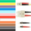 Coloured Singlemode Patch Cable - LSZH Duplex