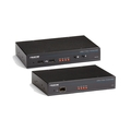 LRXI Industrial KVM Extender – DVI, USB 2.0, audio, serial over fibre