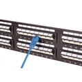 SpaceGAIN CAT5e Angled-Port Patch Panels