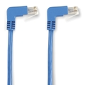 SpaceGAIN CAT6 UTP Angled Cables with Moulded Boots