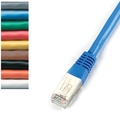 CAT5e 100-MHz Shielded, Solid Backbone PVC Cables (FTP)