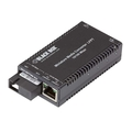 Mini Media Converters 10/100BASE-TX to 100-Mbps WDM