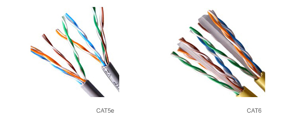 CAT5e vs CAT6 Visual Difference