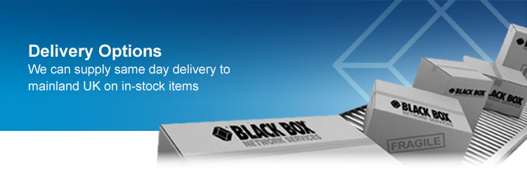 We can supply same day delivery to UK Mainland on in-stock items.